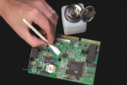 Cleaning Electronics with Isopropyl Alcohol