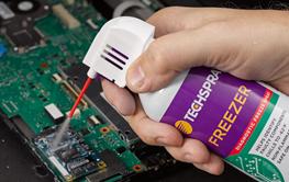 Using Freeze Spray to Diagnose Faulty Electronics