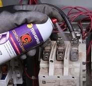 Picture of Safe & Effective Electrical Maintenance with Aerosol Contact Cleaners